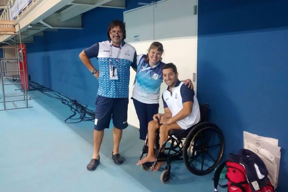 Natación adaptada: Argentina, lista para el debut en el Caixa