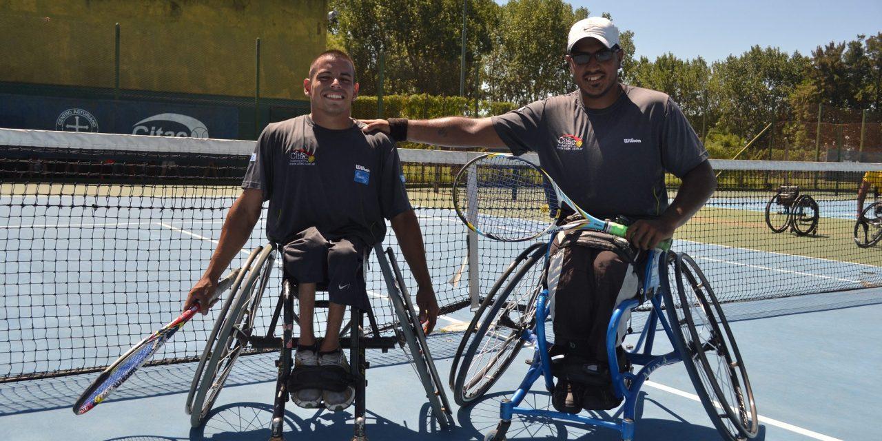 Tenis adaptado: Casco y Ledesma, semifinalistas en Chile