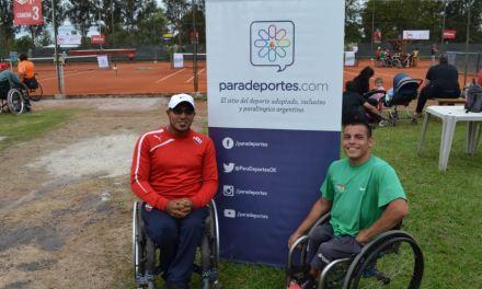 Tenis adaptado: Casco y Ledesma, campeones en Chile