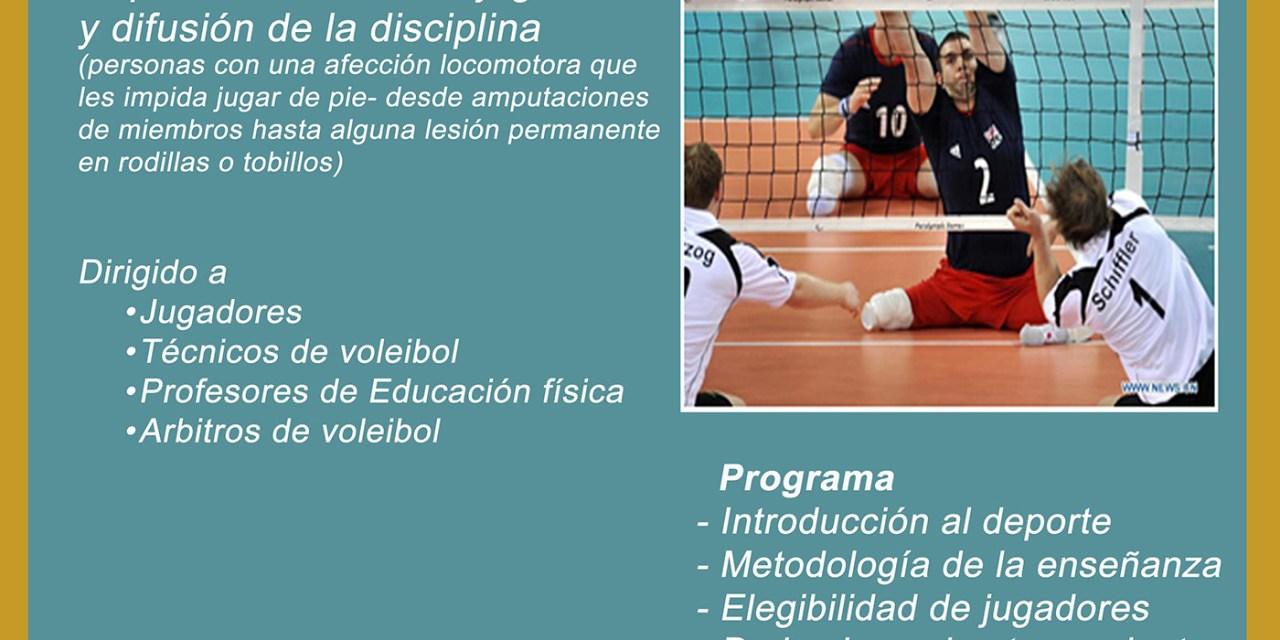 Se viene una nueva clínica de voleibol sentado