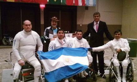 Esgrima adaptada: Argentina, medalla de bronce en Brasil