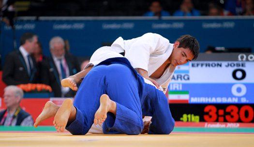 Judo adaptado: Argentina se prueba en Gran Bretaña