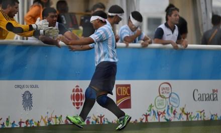 Fútbol para Ciegos: Argentina empató y es puntero