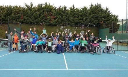 Tenis adaptado: dos torneos internos de AATA