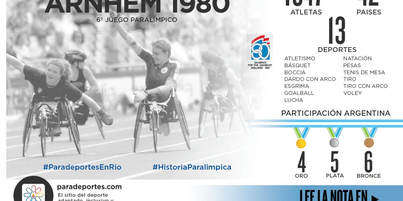 Juegos Paralímpicos Arnhem 1980: Argentina brilló en la natación