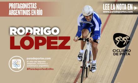 López, el pionero del ciclismo adaptado