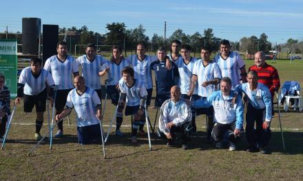 Fútbol para amputados: Argentina dio un paso importante en la Copa Confederaciones