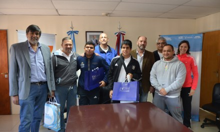 Fútbol para ciegos: Córdoba despidió a sus Murciélagos antes de Río