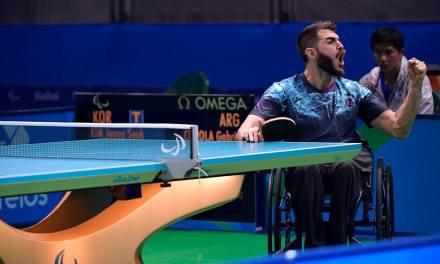 Tenis de mesa: Copola y un debut triunfal