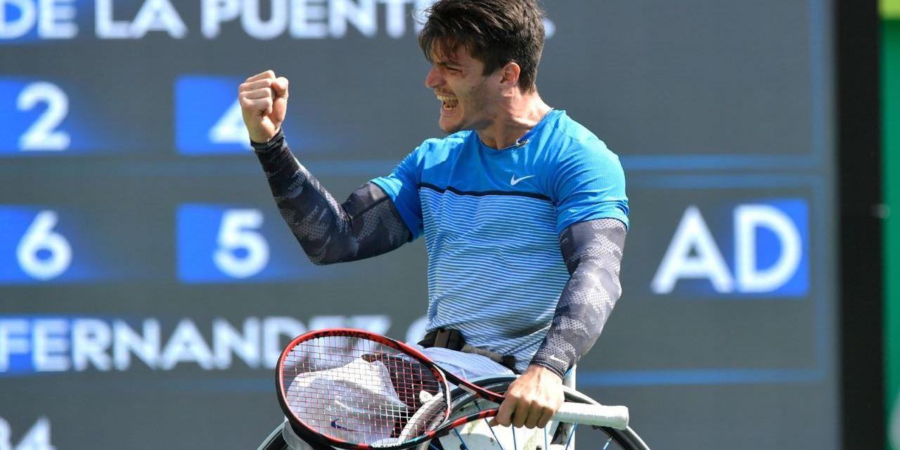 Tenis: comienzo ganador de Gustavo Fernández