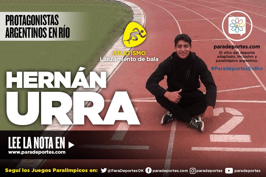Conocé la historia de Hernán Urra