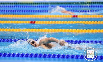 Argentina colecciona diplomas en natación