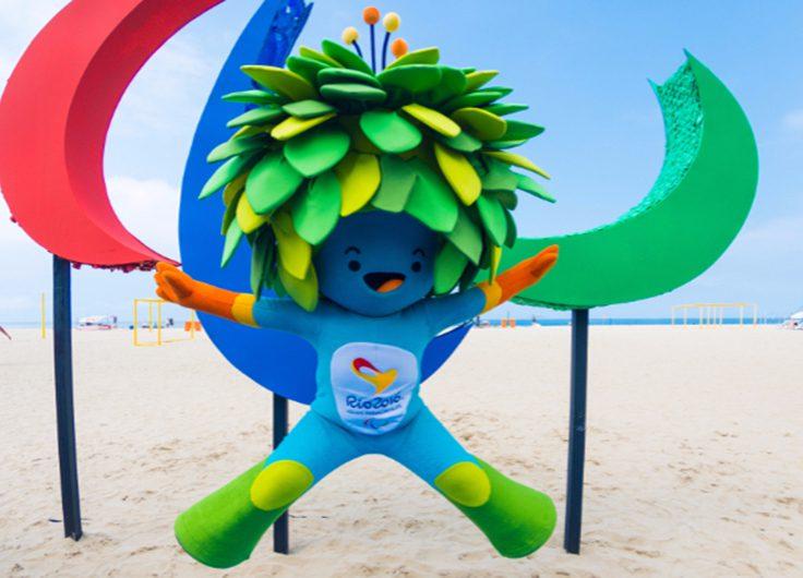 Tom, la mascota de los Juegos Paralímpicos