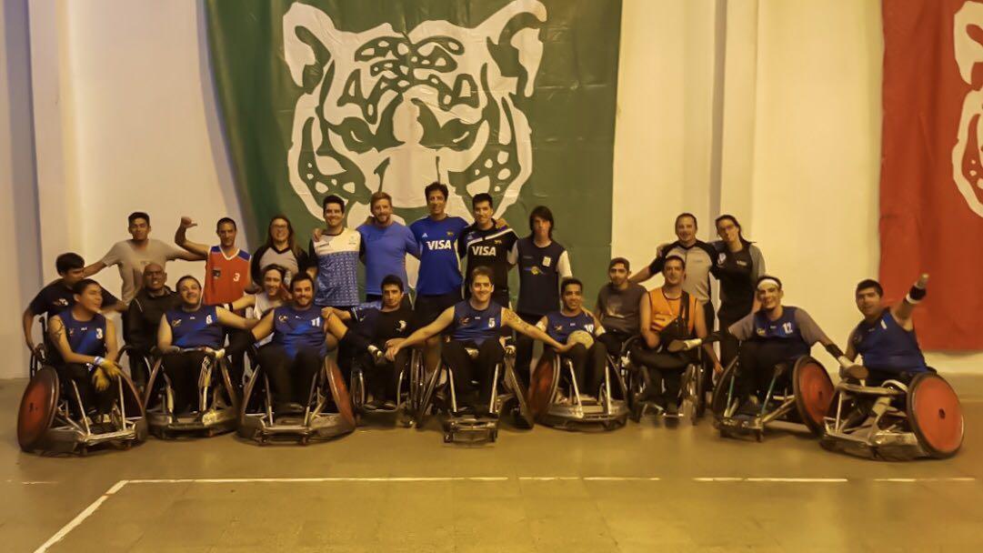 Quad Rugby: La Selección obtuvo una cómoda victoria sobre Chile