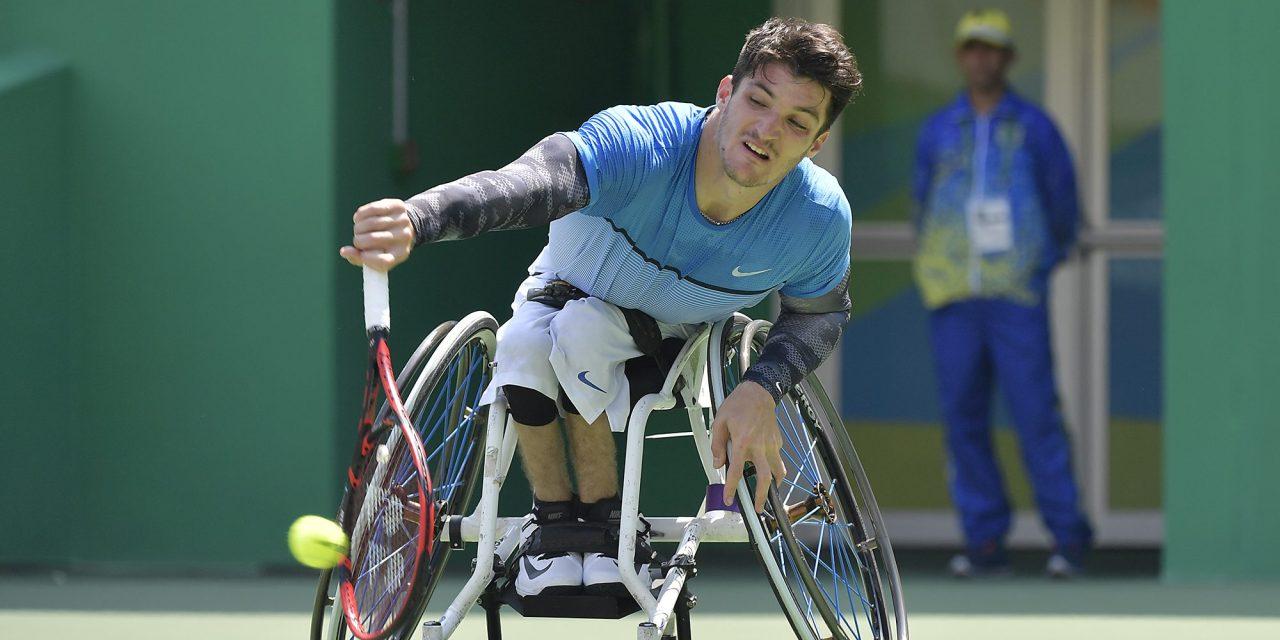 Gustavo Fernández, también finalista en el dobles de Saint Louis