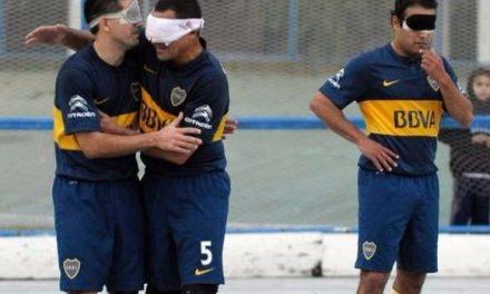 Fútbol para ciegos: Boca va por la clasificación