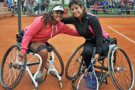 Tenis adaptado: Casco, Moreno y Pralong, semifinalistas en Chile