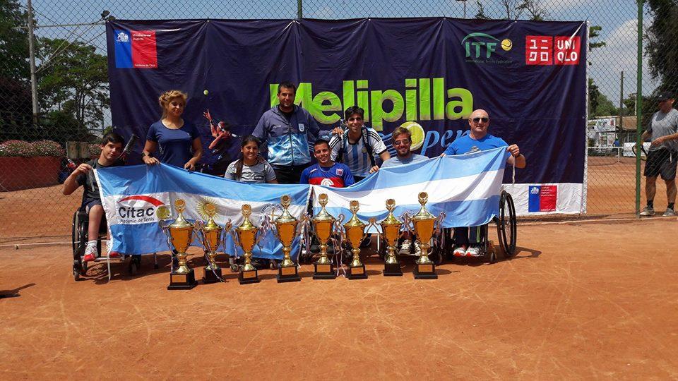 Tenis adaptado: gira sudamericana con siete títulos argentinos