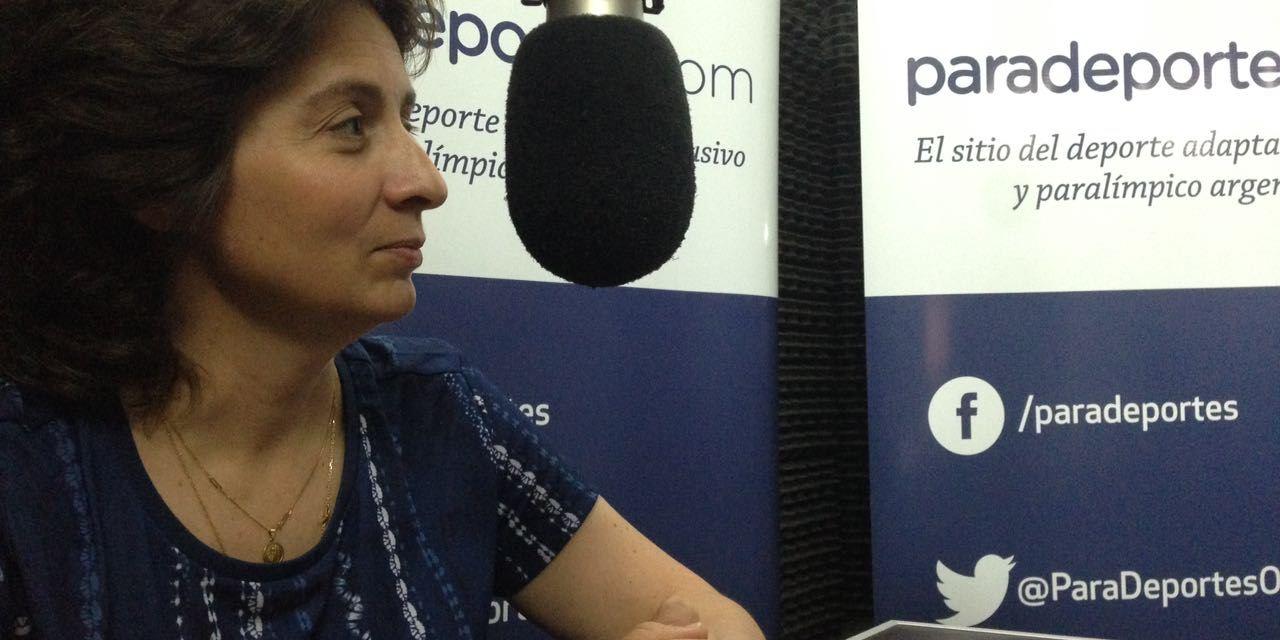 """Alejandra Gabaglio en Paradeportes radio: """"Queremos una medalla del tenis de mesa adaptado en Tokio 2020"""""""