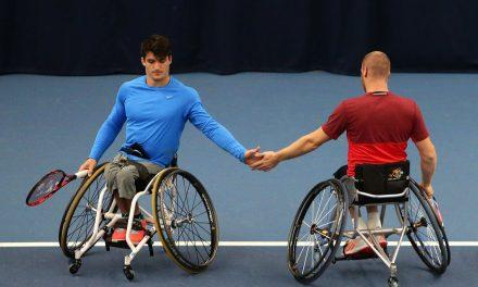 Tenis adaptado: Gustavo Fernández, semifinalista en Bath