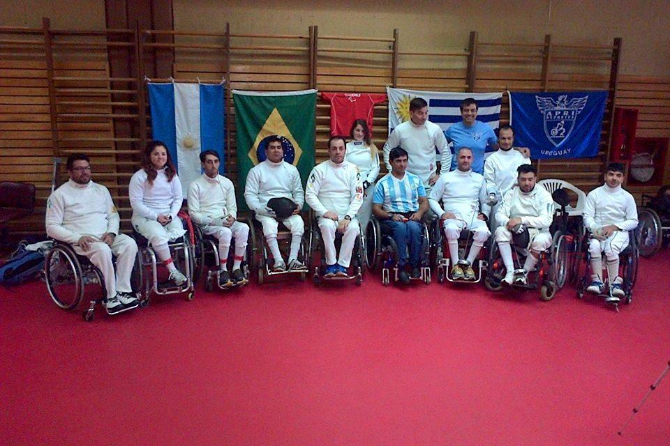 Esgrima paralímpica: Argentina, sede de la Copa Sudamericana Amistad
