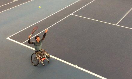 Tenis adaptado: sólido debut para Fernández en Bath