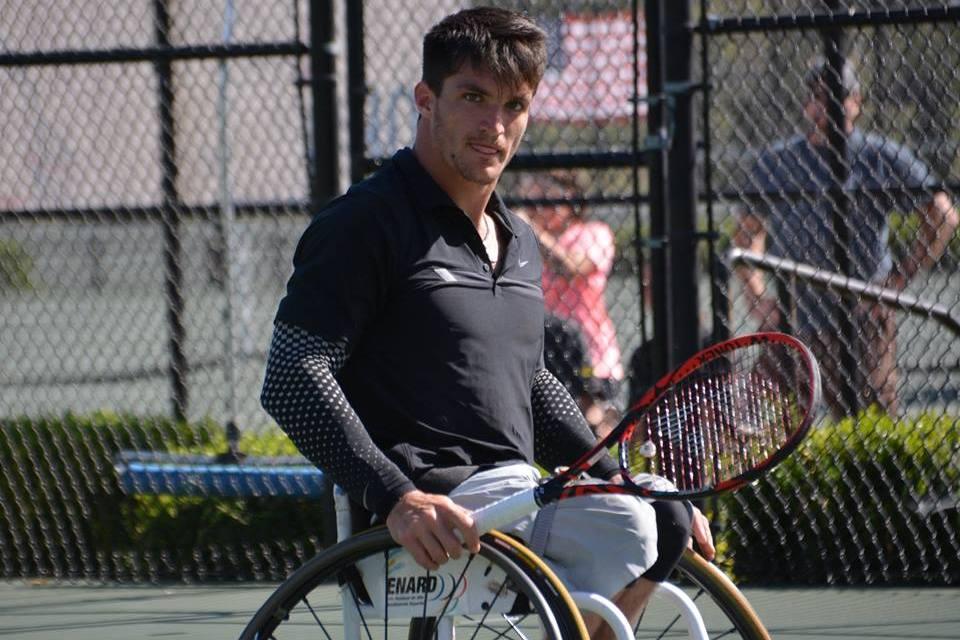 Tenis adaptado: Gustavo Fernández, en semifinales del Master de dobles