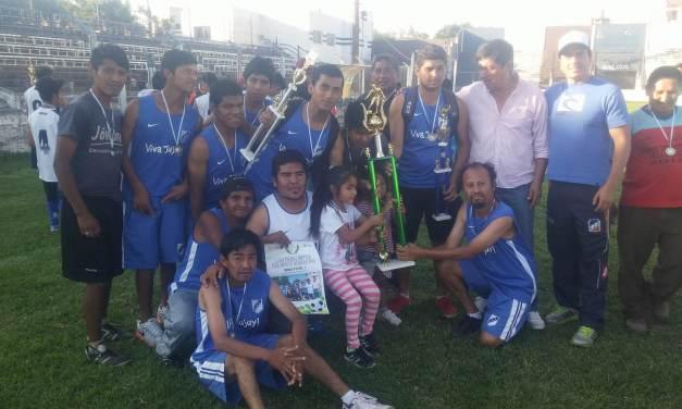 Fútbol 7: Perico se quedó con la Liga Paralímpica del Norte