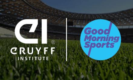 Good Morning Sports junto a Johan Cruyff Institute