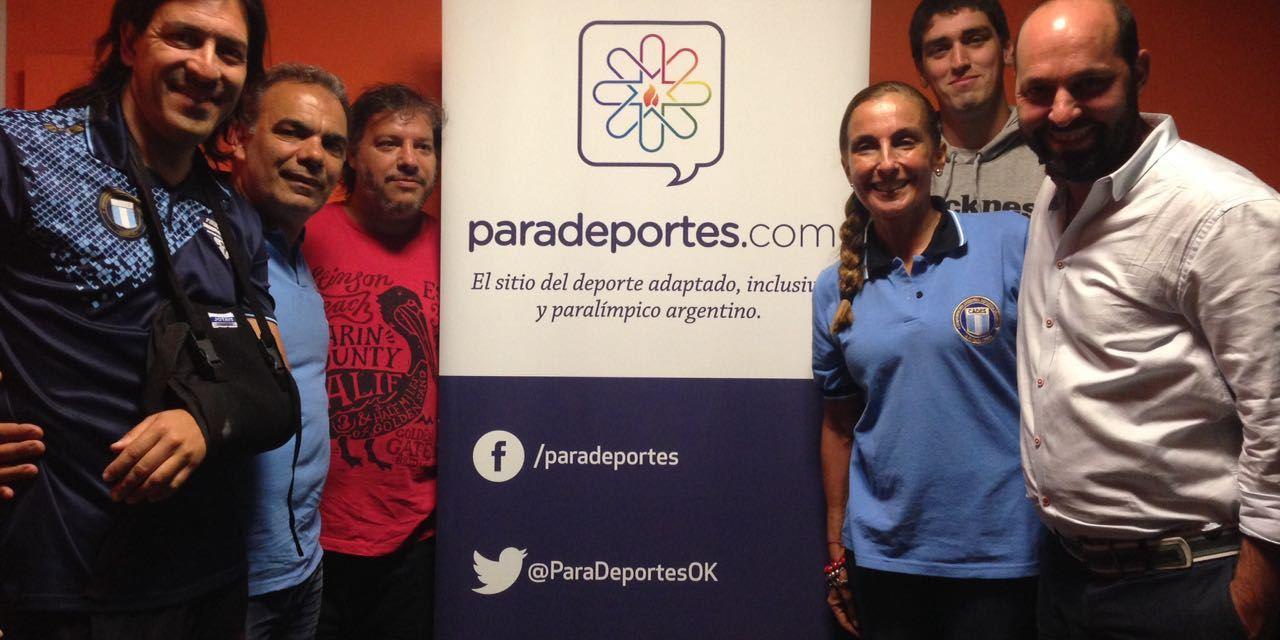 El deporte para sordos visitó Paradeportes Radio
