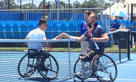 Tenis adaptado: Gustavo Fernández llegó hasta semifinales en Sidney