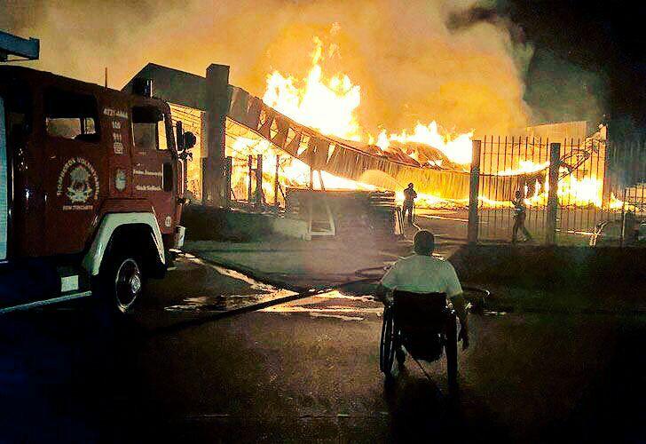 Cañumil, entre el quad rugby y el cuartel de bomberos