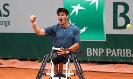 Tenis adaptado: buen debut para Gustavo Fernández en Francia