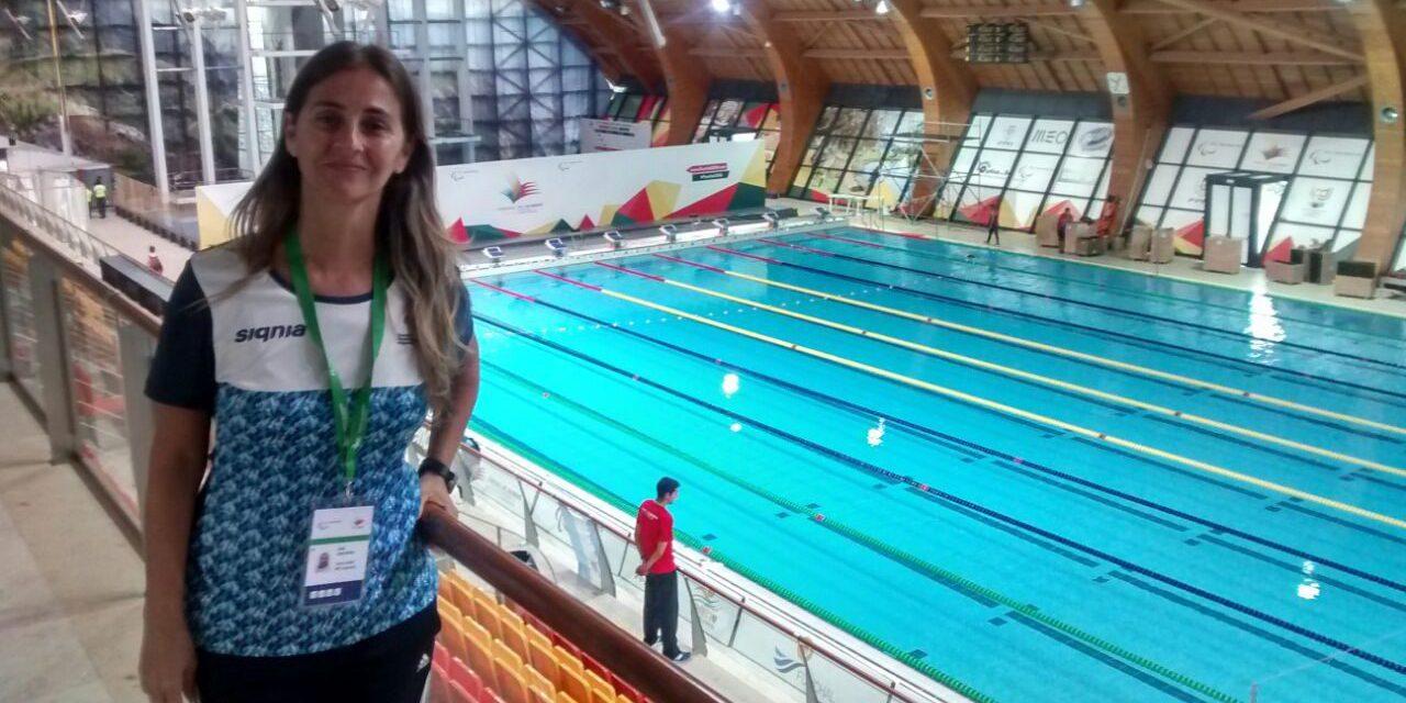 """Arraspide: """"El objetivo de los Parapanamericanos Juveniles es fomentar nadadores para el futuro"""""""