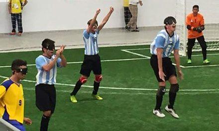 Fútbol 5: enorme triunfo de Los Murcielaguitos sobre Brasil