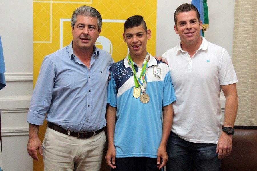 Atletismo: Alexis Chávez, deportista destacado en Pergamino