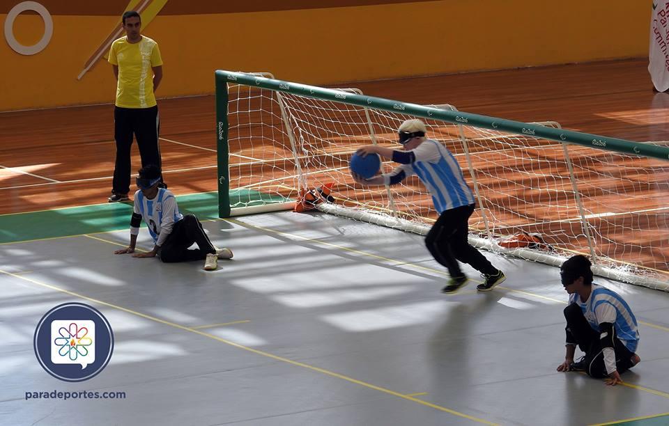 Goalball: Argentina y un categórico triunfo ante Ecuador