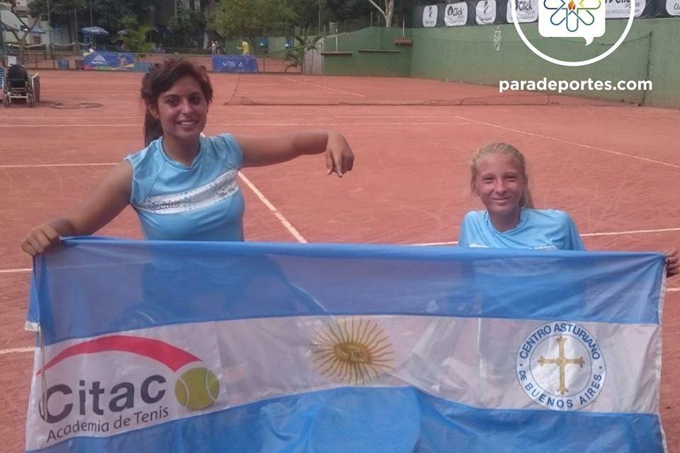 Tenis: Pralong, doble campeona en San Pablo
