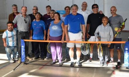 Córdoba lanzó su escuela de tenis para ciegos