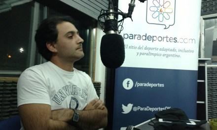 """Ezequiel Capdevila en Paradeportes Radio: """"Apuesto a que la gente pruebe el parabadminton y se enganche"""""""