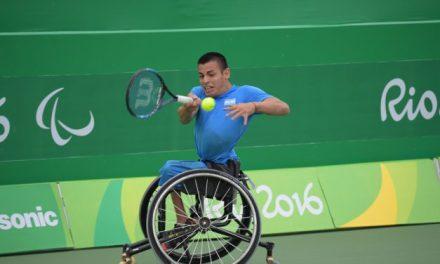 Tenis adaptado: gira positiva en Estados Unidos para Casco y Moreno