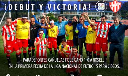Fútbol para ciegos: Paradeportes Cañuelas FC debutó en la Liga con un gran triunfo