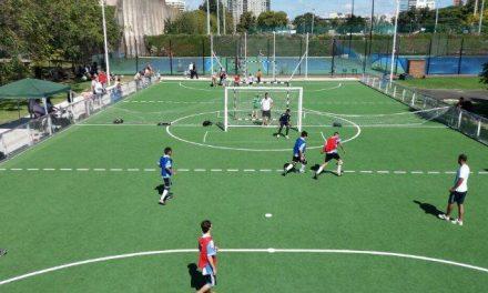 Fútbol para ciegos: Los Murcielaguitos tuvieron su propia fiesta en el CENARD