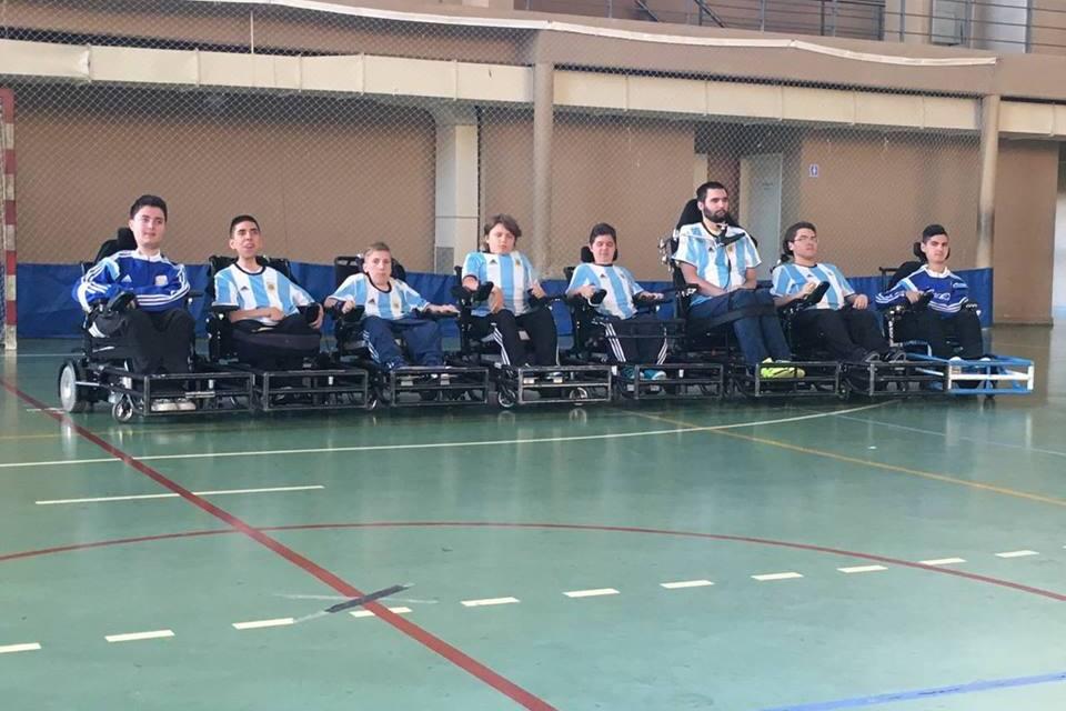 Powerchair football: Argentina, lista para el Mundial
