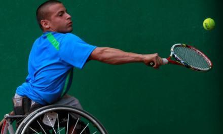 Tenis adaptado: Ezequiel Casco, finalista en Israel