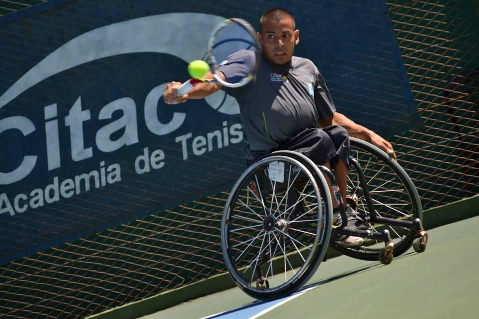 Tenis adaptado: Ezequiel Casco, subcampeón en Francia