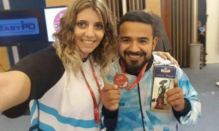 Pesas: David Coronel, medalla de bronce en la Copa del Mundo