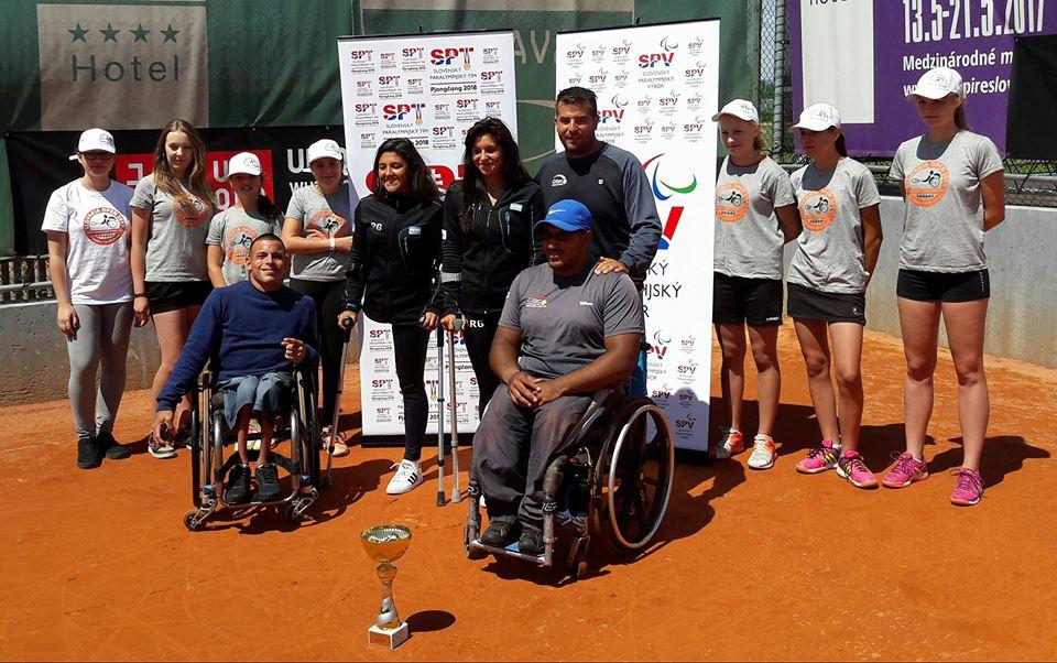 Tenis adaptado: ¡Agustín Ledesma, campeón en Eslovaquia!