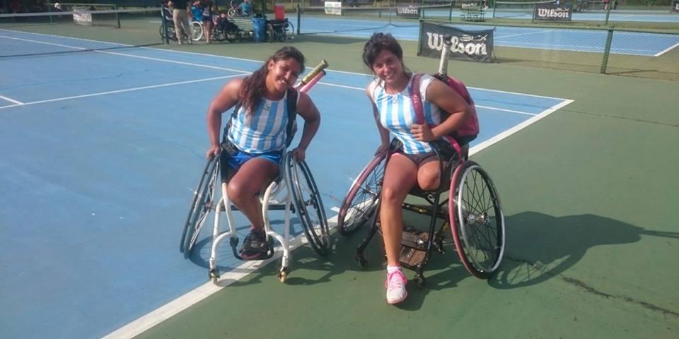 Tenis adaptado: Moreno y Pralong, Subcampeonas en Polonia