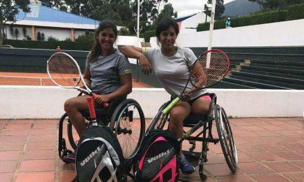 Tenis adaptado: Moreno y Pralong, semifinalistas en España